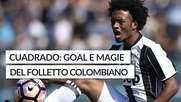 Cuadrado: goal e magie del folletto colombiano
